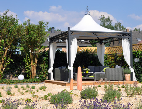 bo wi outdoor living profi pavillon roma. Black Bedroom Furniture Sets. Home Design Ideas
