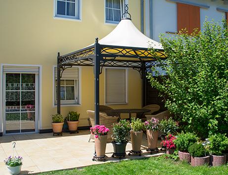 bo-wi outdoor living – referenzen: Überdachung, sonnenschutz, Garten und erstellen